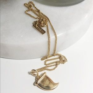 Kenzo charm necklace
